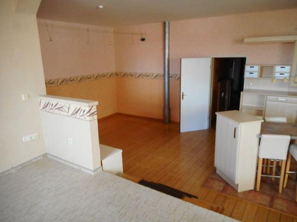 Küche- u. Wohnzimmerbereich
