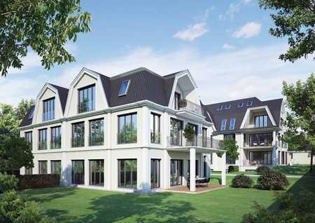 Penthouse mit Dachterrasse in Gartenvilla, Bogenhausen, München in Bogenhausen (München)