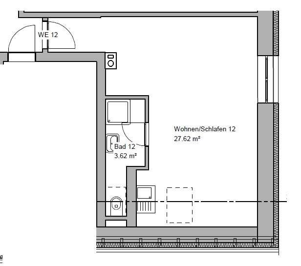 Praktisches Apartment im Zentrum von Straubing in