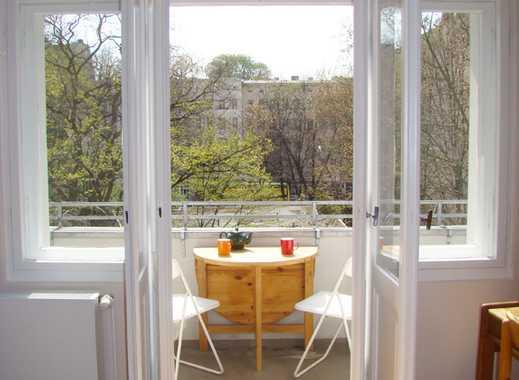 voll möbliert: wunderschöner u. hochwertig sanierter Altbau mit Sonnenbalkon in Graefekiez