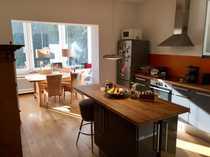 Befristete Vermietung Stilvolle 4-Zi-Hochparterre-Wohnung mit
