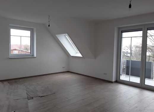 Erstbezug: ansprechende 3-Zimmer-DG-Wohnung mit Balkon in Syrgenstein