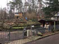 Baugrundstück mit Wochenendhaus
