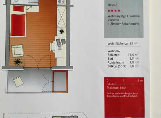 Am Campus Hohenheim: 1-Zimmer-Whg mit Tersasse, Küchenzeile in Stuttgart-Hohenheim