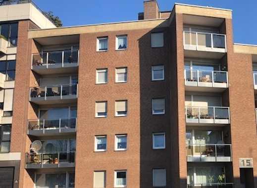 Mönchengladbach-Stadtmitte Parkstrasse Gepflegte 2-Zimmer-Wohnung mit Balkon
