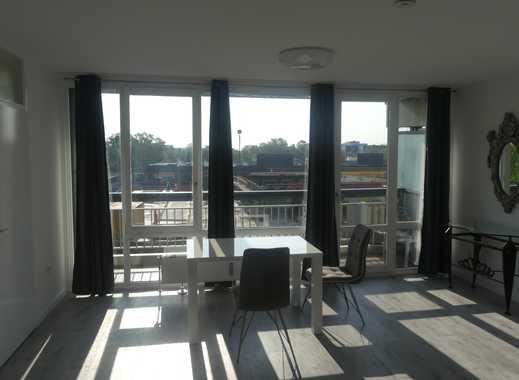 Helles möbliertes Appartment, mit großem Balkon und separater Küche in Weiden