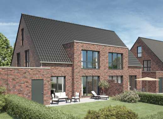 Etelsen/Langwedel - Neubau von modernen Doppelhäusern mit großzügigen Garagen