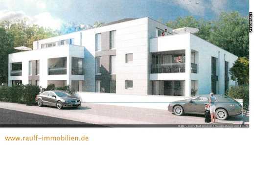 Neubau-Komfortwohnung mit Balkon und 2 TG-Plätzen