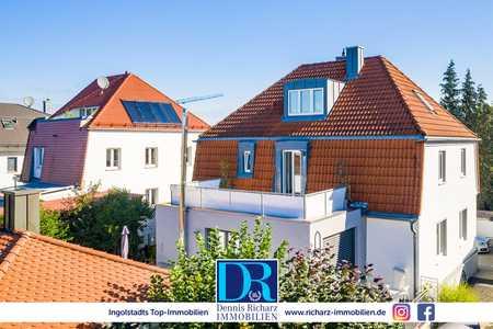 Renovierte 2-Zi-Whg mit Dachterrasse, Altbau-Charme und neuer EBK in Top-Lage! in Nordost (Ingolstadt)