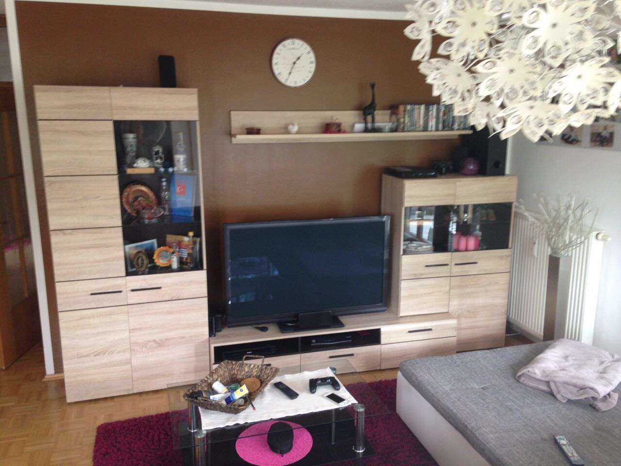 Sehr schöne helle 3-Zimmer-Wohnung mit Balkon und Einbauküche in Aidenbach
