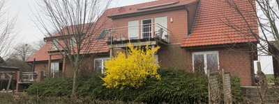 Günstige, neuwertige 3-Zimmer-EG-Wohnung mit Terasse  in Petershagen/Neuenknick