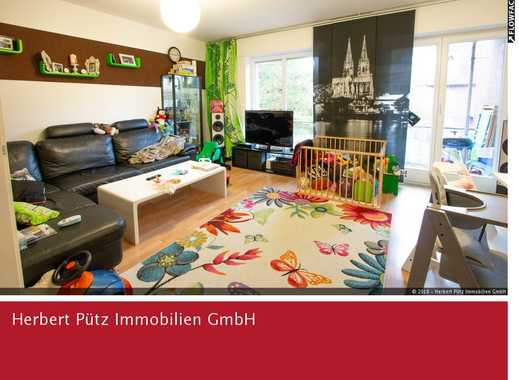 3-Zimmerwohnung in grüner Wohnanlage