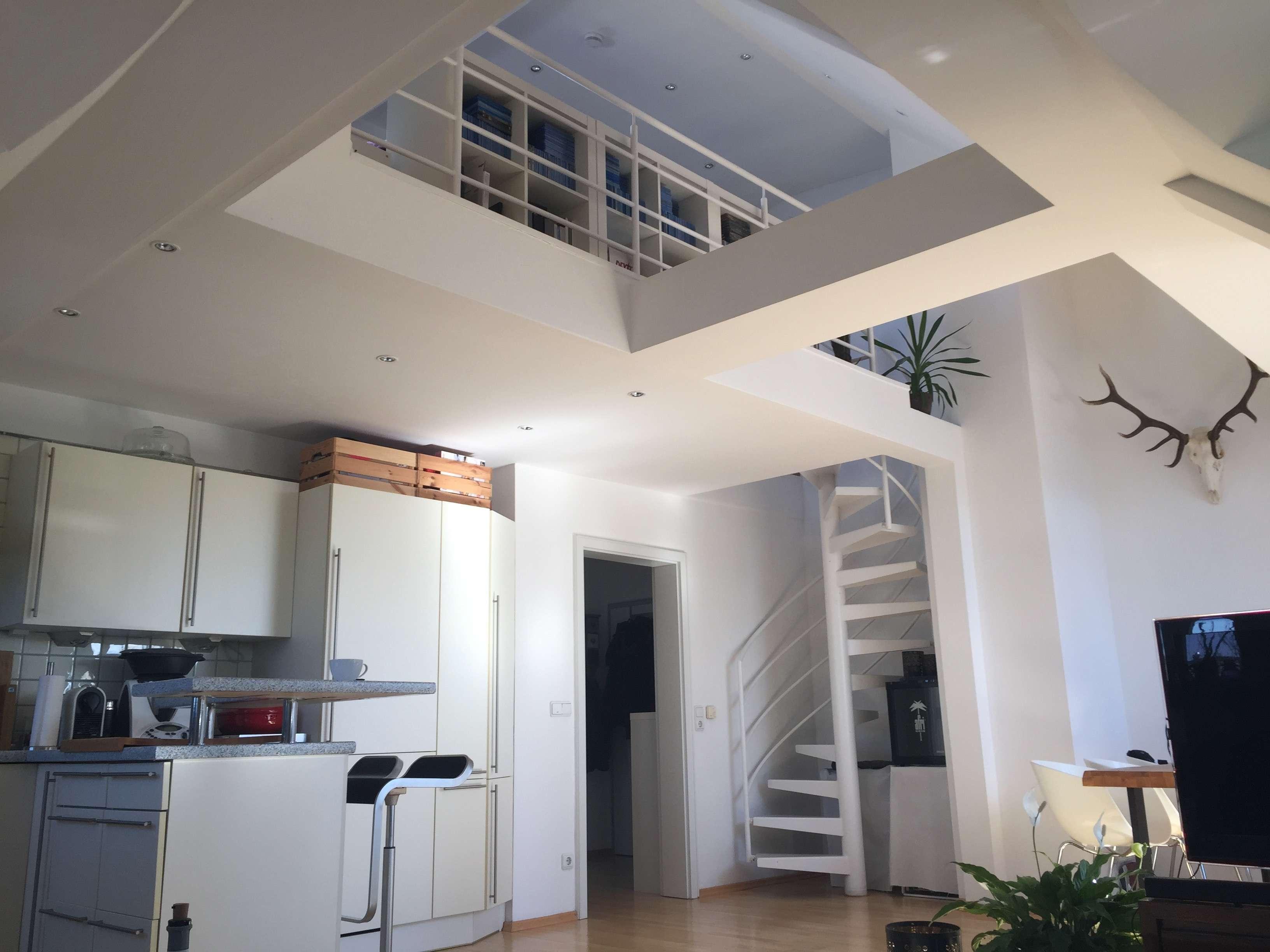 Luxuriöse Maisonette-Wohnung mit 2,5 Zimmer im Münchner Osten