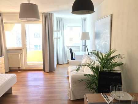 Helle möblierte 1-Zimmer Wohnung in St. Johannis in Sandberg