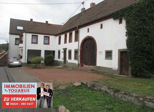 Bauernhaus mit großem Grundstück und Potential in Wiebelskirchen zu verkaufen