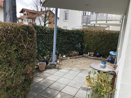 Schöne, sonnige EG- / Terrassen-Wohnung in Kempten - St. Mang - 2 ZKB in St. Mang (Kempten (Allgäu))