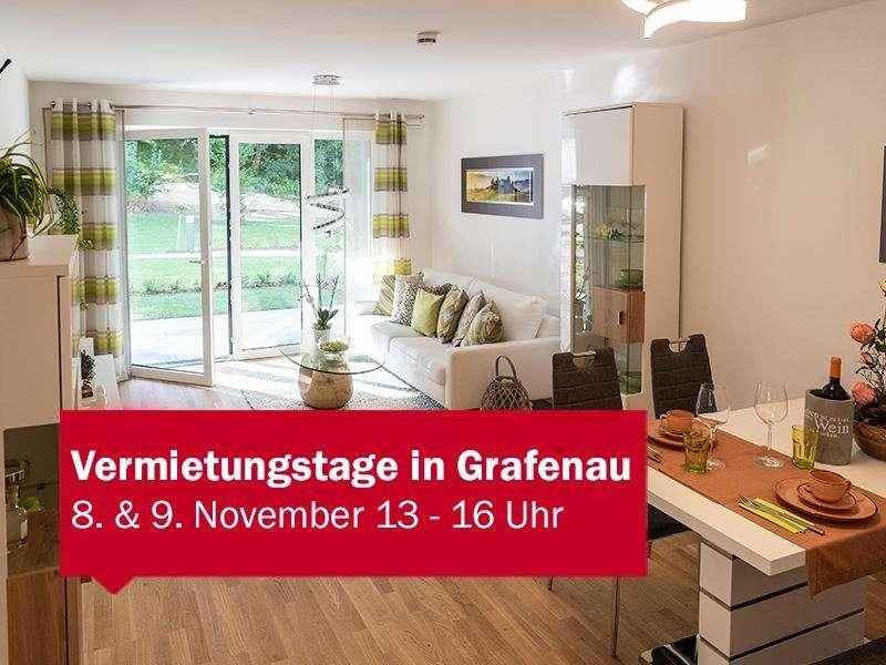 *NEUBAU* 2-Zimmer-Wohnung in Grafenau in Grafenau (Freyung-Grafenau)