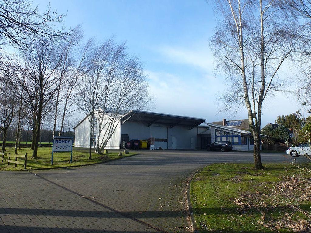 Produktionshalle + Bürogebäude