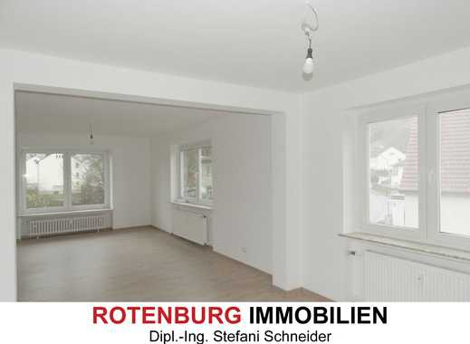 Sanierte 4-Zi-Wohnung (OG), Innenstadtlage von Rotenburg - Erstbezug