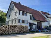 Bauernhaus mit Scheune und schönem