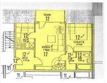 3 Zimmer Maisonette Dachgeschoss Wohnung