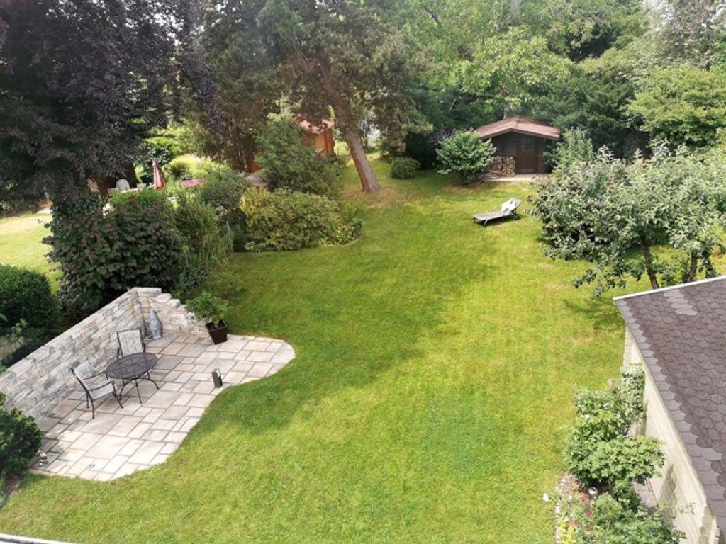 Traumgarten Blick vom Balkon