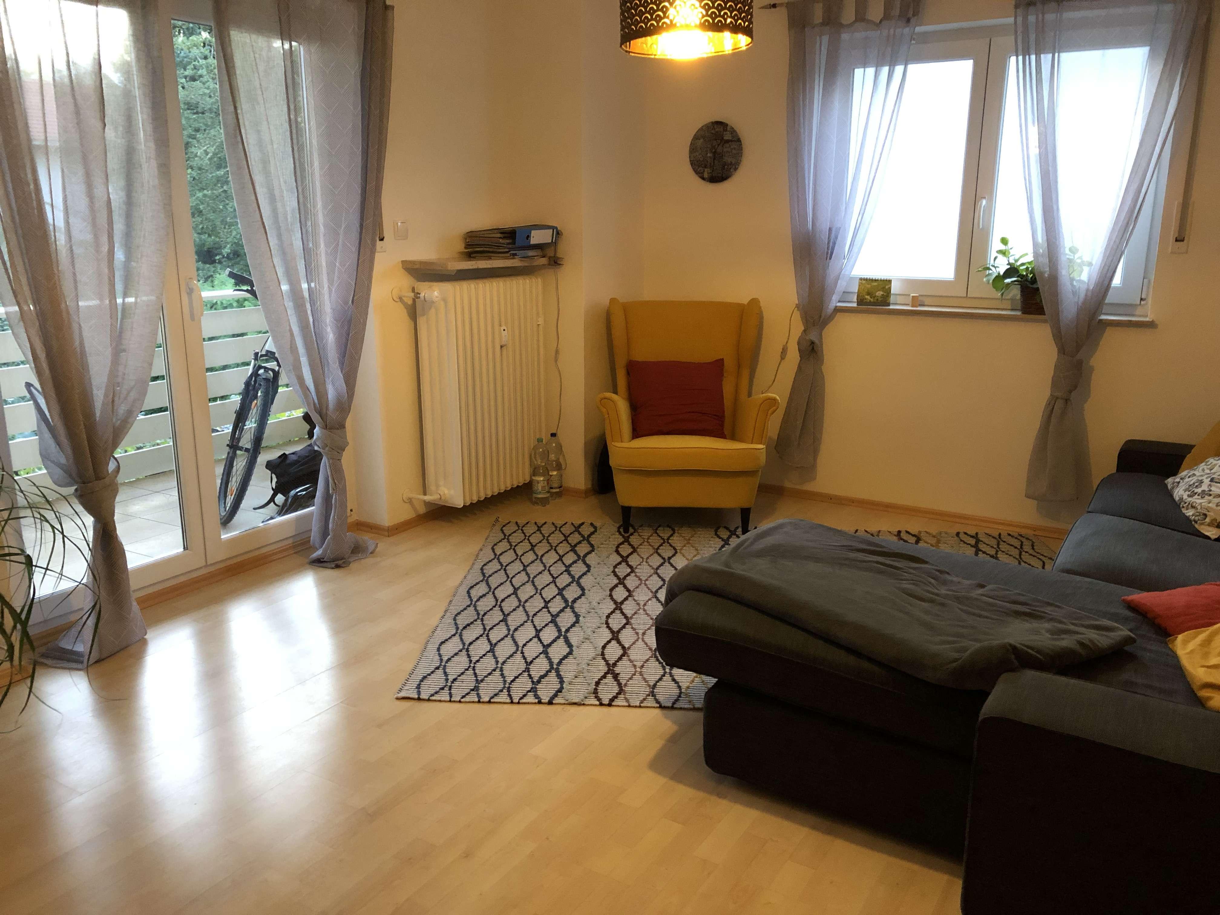 Helle, lichtdurchflutete 2-Zimmer Wohnung in ruhiger Lage in Weilheim in Oberbayern