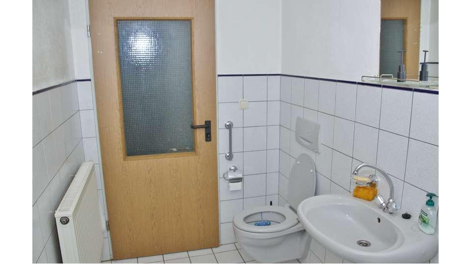 WC in Erdgeschoss