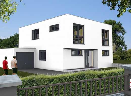 Traumhaus im Bauhausstil mit 6 Zimmern und 2 Bäder in ruhiger Lage von Hilden.
