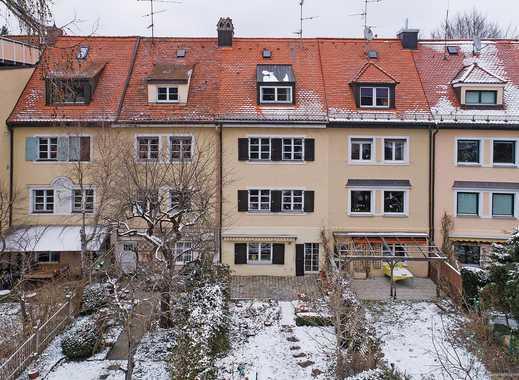 München-Harlaching! Charmantes Reihenhaus mit viel Platz für die ganze Familie und vielen schönen De