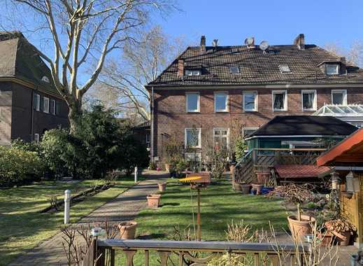 Kapitalanlage/Denkmalschutz - EG-Wohnung im 2-Familienhaus mit Garten und Garage