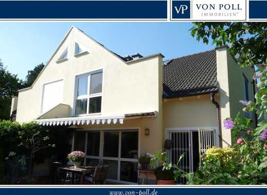 VON POLL - BAD HOMBURG: Hochwertig gestaltetes Doppelhaus in ruhiger Lage