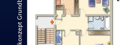 Helle  3-Zimmer Wohnung in guter Lage!