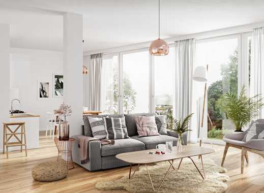 NEUBAU • 4-Zimmerwohnung mit 55 m² Wohnküche • Balkon • Fußbodenheizung • direkt am Volkspark