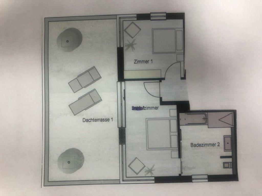 2 Zimmer Penthouse