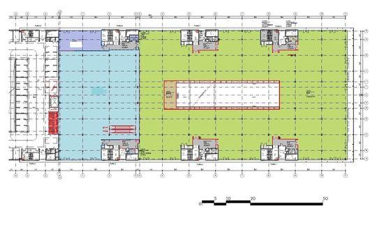Beispiel, 2. OG, ca. 3.700 m²