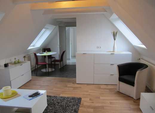 Möbliertes Apartment Dachgeschoßstudio im Herzen von Meiderich