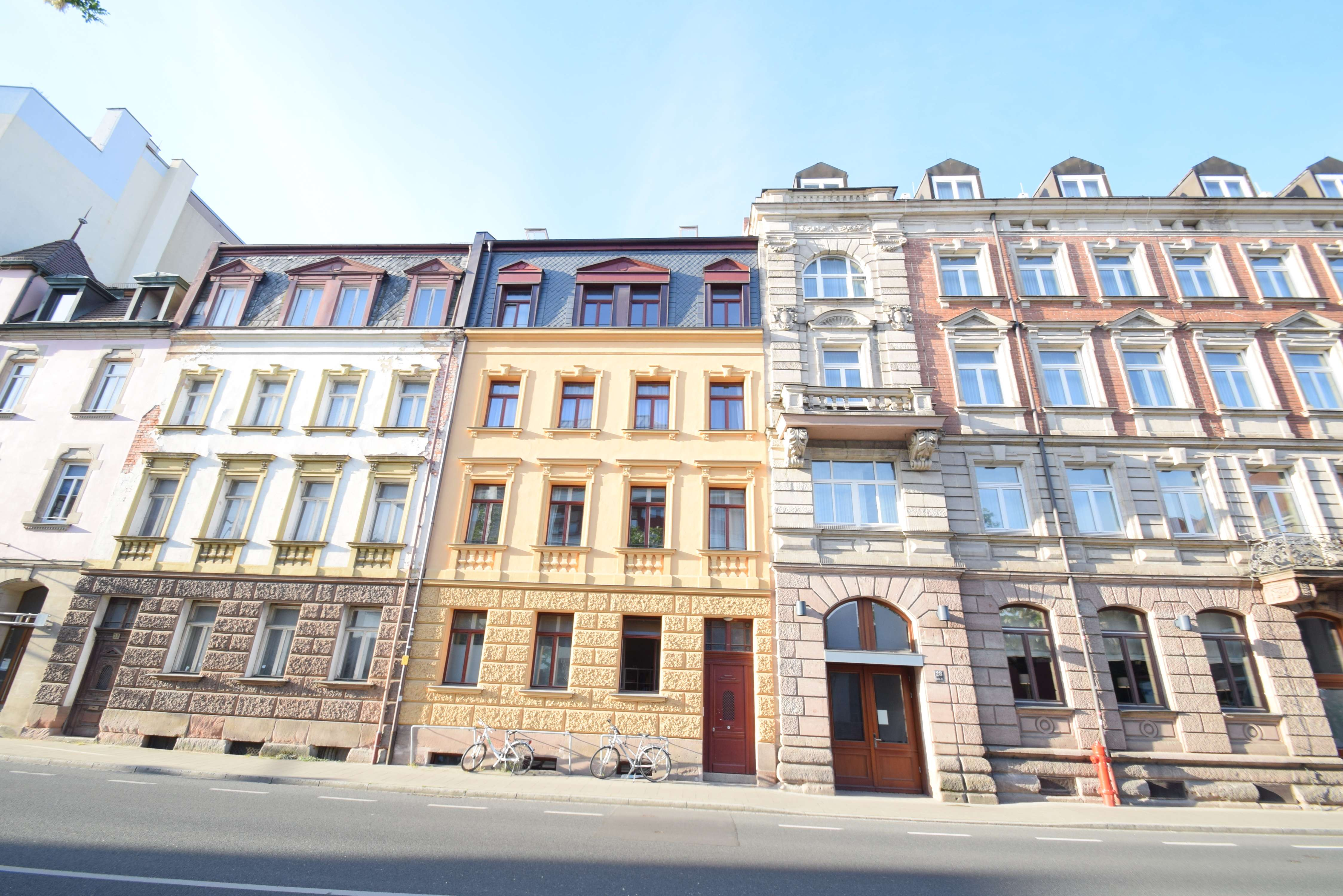 Charmantes Dachgeschoss in bester Innenstadtlage Erlangen in