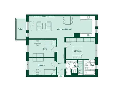 Wohntraum zum Verlieben - Wohnen am Alepnerplatz