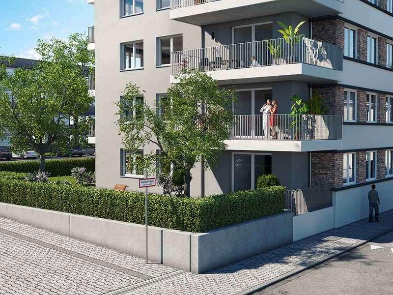 !Baustellenbesichtigung Samstag 10 – 12 Uhr! Schöne 3-Zimmer-Wohnung auf ca. 90 m² mit Loggia