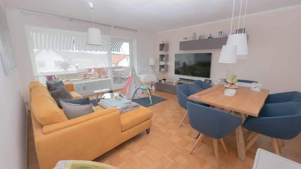 Modernisierte 4-Zimmer-Wohnung mit Balkon in Coburg / Creidlitz