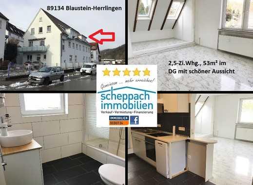 Kampfpreis: DG-Wohnung zur Selbstnutzung oder Kapitalanlage, Blaustein-Herrlingen (Sackgasse)!