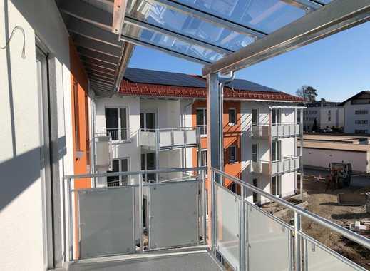 Erstbezug mit Balkon: schöne 4-Zimmer-EG-Wohnung in Traunreut
