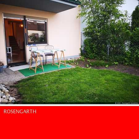 Top 1 Zimmer Wohnung mit Terrasse & Garten in Lengfeld