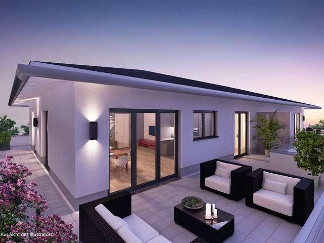 Erstbezug mit Dachterrasse: stilvolle 3-Zimmer-Dachgeschosswohnung in Schweitenkirchen