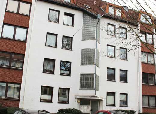 Beliebte Neustadt: moderne + helle 3 Zimmer-Wohnung + Balkon