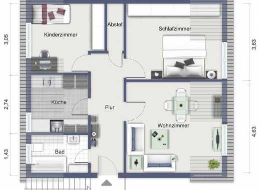E.- Altenessen-Süd, gemütliche 3-Zi.KDB -Whg, DG links, renoviert, Gartenmitbenutzung