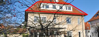 2 Zimmer-Dachgeschosswohnung im Sommerbadviertel