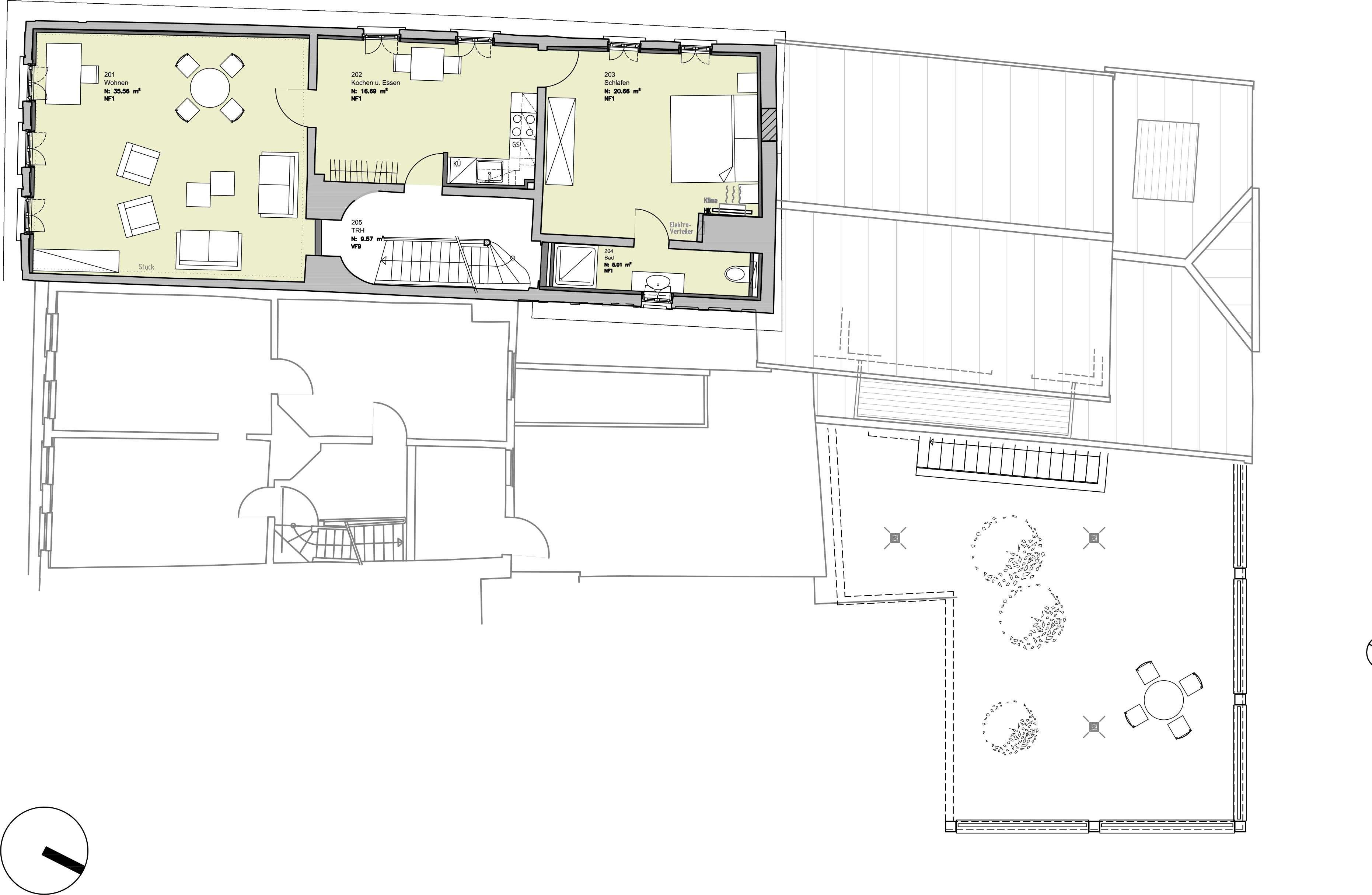 Schöne 3-Zimmerwohnung im Denkmal, Erstbezug nach Sanierung in Miltenberg