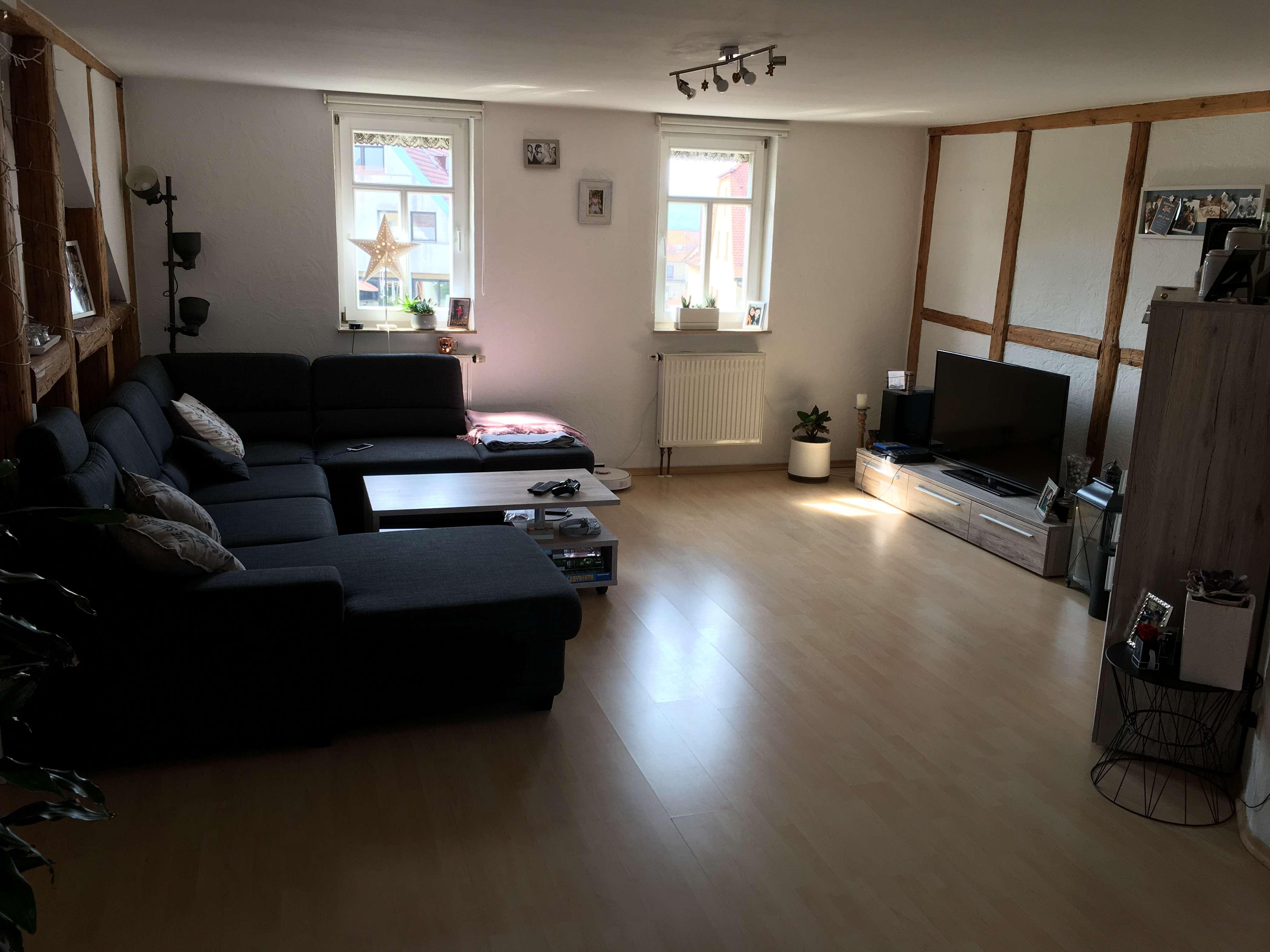 Nachmieter ab 01.08. gesucht für 2-Zimmer-Wohnung mit EBK in Haßfurt Innenstadt